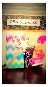 diy office survival kit wee share should make these for my co