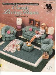 crochet home decor free patterns image detail for doll home furnishings ii crochet patterns living