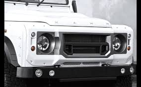 kahn land rover defender 110 2014 a kahn design land rover defender white chelsea wide track