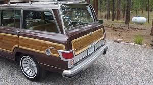 1989 jeep wagoneer limited 1982 jeep wagoneer limited update youtube
