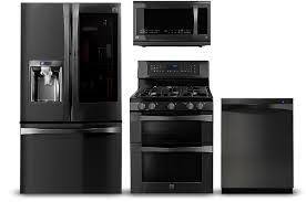 black kitchen appliances black stainless steel appliances kenmore