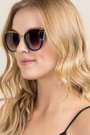 zoelle floral cat eye sunglasses francesca u0027s