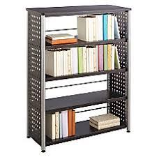 bookshelves metal metal bookcases u0026 shelving at office depot officemax