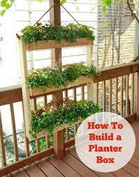how to build a wood planter box wgn tv