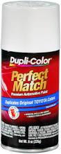 amazon com dupli color bty1556 super white ii toyota exact match