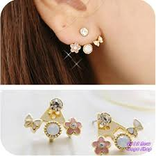 different types of earrings how to make 3 different kinds of earrings aelida