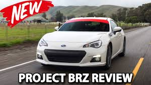 New Brz 2015 2015 Subaru Brz Project Car Review Youtube