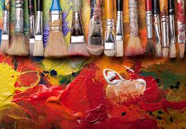 is paint any the elements of painting