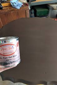 how much gel stain do i need for kitchen cabinets how to apply gel stain to update a tabletop or furniture
