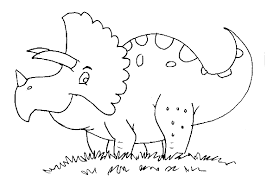 Coloring Pages 5 Dinosaur Coloring Page