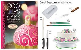 national cake decorating day supplies to help you bake at home