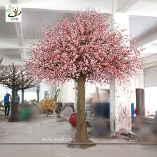 uvg chr058 decorative cherry trees indoor artificial flower tree for