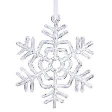 snowflake ornament wayfair