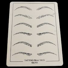 aliexpress com buy 2 sheets permanent makeup eyebrow lips tattoo