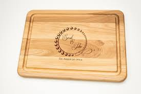 wedding gift engraving ideas personalized cutting board gift engraved gift for wedding cutting