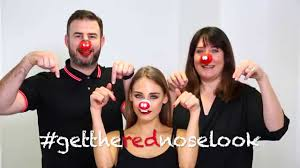gettherednoselook with rimmel london red nose day 2015 youtube