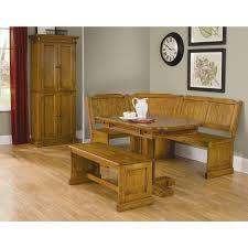 rustic style oak kitchen tables corner nook u2014 desjar interior