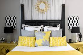 Black And White Bedroom With Grey Walls Gray And Yellow Bedroom Walls Steel Base Be Equipped Square White