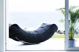 chaise longue ext rieur chaise longue courbée half moon by trimm en vente sur parideo