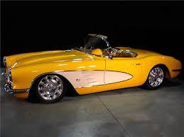 59 corvette convertible 1959 chevrolet corvette custom convertible 96169