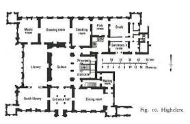 country house floor plan image from the victorian country house by mark girouard jpg