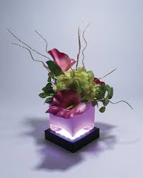 Square Vase Flower Arrangements Black Square Light Base Fortuneproducts Com