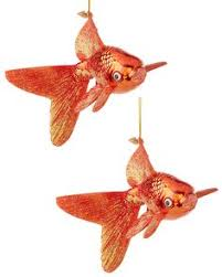 goldfish ornaments goldfish