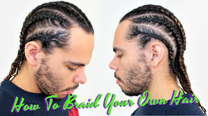 hair braiding got hispanucs tutorial how to braid cornrow your own hair protective style