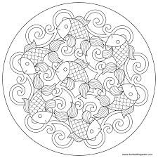 fantastic poinsettia mandala coloring pages with advanced mandala