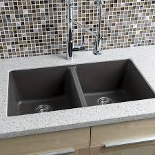 Granite Composite Kitchen Sinks by Miseno Mgr33185050 Br Mocha 33