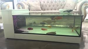 fish decorations for home coffee table coffee table fish aquarium diy creative natural