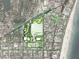 Miami Beach Map Gallery Of Oma Proposes Radical Redevelopment Plan For The Miami