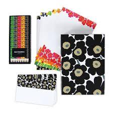 stationery set marimekko unikko stationery pencils gift set most popular items