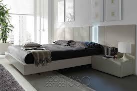 Modern Platform Bed With Lights - kassel european designer platform bed with led lights by mobenia