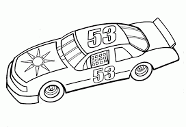 coloring pages nascar coloring fantastic pages race