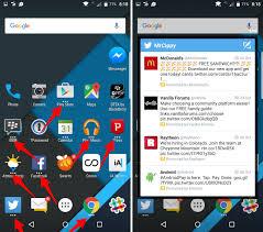 enable pop up widgets on blackberry priv cnet
