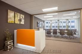 Custom Made Reception Desk Custom Made Reception Desks Artificial Stone Clinic Reception