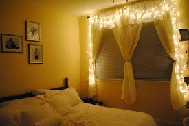 bedroom romantic christmas lighting ideas with super bright clear