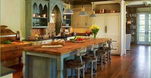 cabinet country style cabinets absolute country blue kitchen