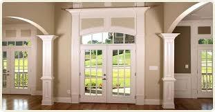 Front Door Interior Arched Door Casing Interior Front Door Trim Ideas Images Doors