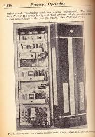 tech antique theater equipment preservation sound