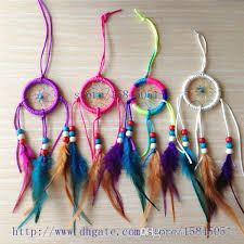 Home Decor Items Cheap 6cm Diameter Dream Catcher Decor Car And Home Decoration Birthday