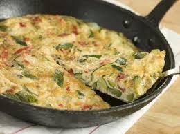 cuisine courgettes frittata aux courgettes et oignons recettes de cuisine italienne