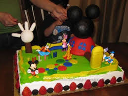 mickey mouse clubhouse birthday cake coolest mickey mouse clubhouse cake