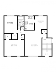 simple one bedroom house plans great 4 plan fashionable ideas