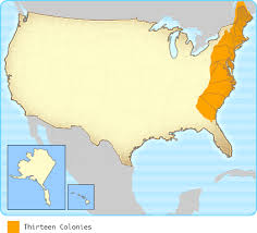 the thirteen colonies map interactives united states history map colonists
