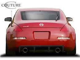 nissan altima coupe vs 350z nissan 350z rear bumpers body kit super store ground effects