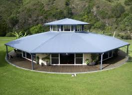 this three bedroom octagonal home was built on a rotating platform