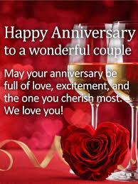 anniversary cards happy anniversary greetings birthday