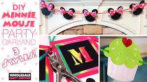 minnie mouse party supplies minnie mouse party garland 3 styles party ideas activities